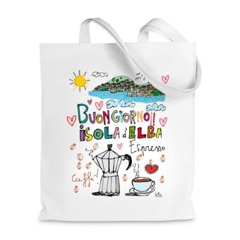 Borsa Shopper Buongiorno Isola d'Elba