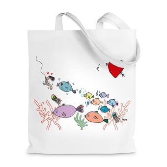 Borsa Shopper I Love mare