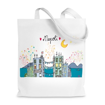 Borsa shopper Napoli