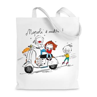 Borsa shopper Napoli è matta!