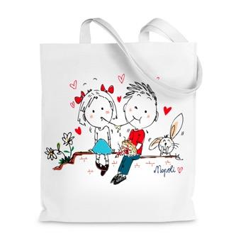 Borsa shopper Love Napoli