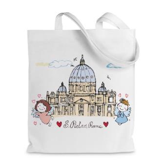 Borsa shopper Basilica di San Pietro
