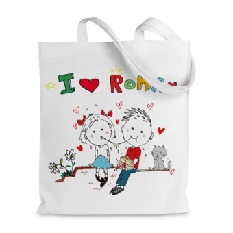 Borsa shopper  Love Roma