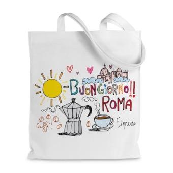 Borsa shopper Buongiorno Roma
