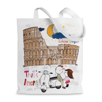 Borsa shopper Colosseo Tath's amore