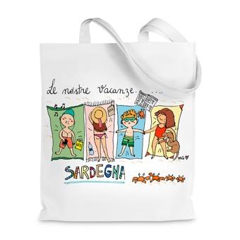 Borsa shopper Le nostre vacanze in Sardegna