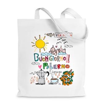 Borsa Shopper buongiorno Palermo - Sicilia