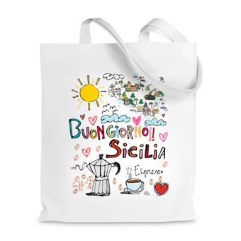 Borsa Shopper buongiorno Sicilia