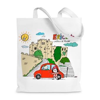 Borsa Shopper Erice, Castello di Venere - Sicilia