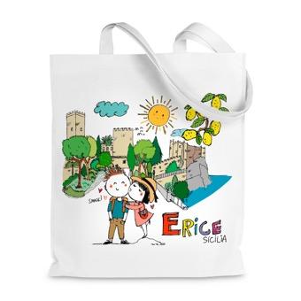 Borsa Shopper  Erice - Sicilia