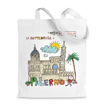 Borsa Shopper cattedrale di Palermo - Sicilia