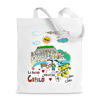 Borsa Shopper la nostra vacanza a Cefalù - Sicilia