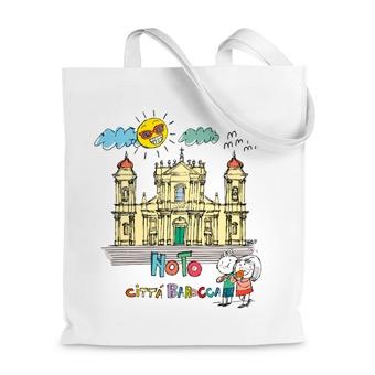 Borsa Shopper Noto, città barocca - Sicilia