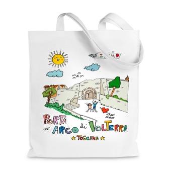 Borsa Shopper Porta all'Arco di Volterra - Toscana