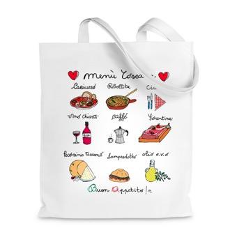 Borsa Shopper Menù Toscana