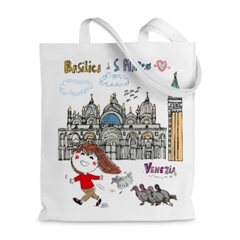 Borsa shopper Basilica di San Marco, Venezia
