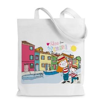 Borsa shopper Canale di Venezia