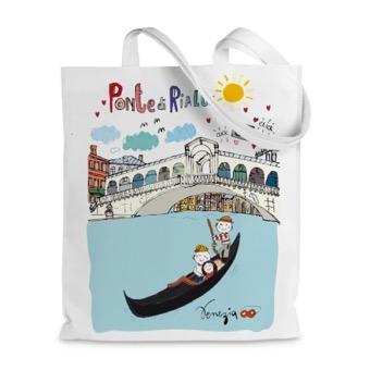 Borsa shopper Ponte di Rialto, Venezia