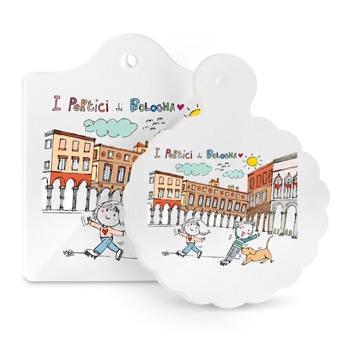 Tagliere - Sottopentola I portici di Bologna