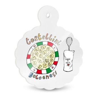 Tagliere - Sottopentola Tortellini bolognesi, Bologna, Fiore