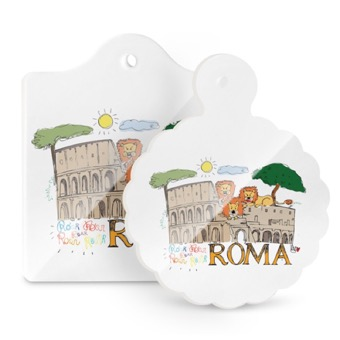 Tagliere - Sottopentola, Colosseo e Leoni