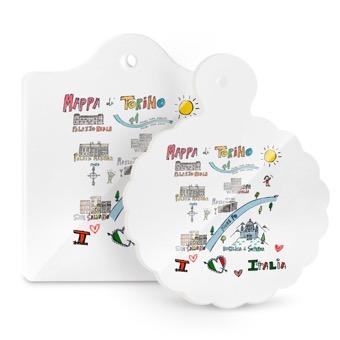 Tagliere - mappa di Torino