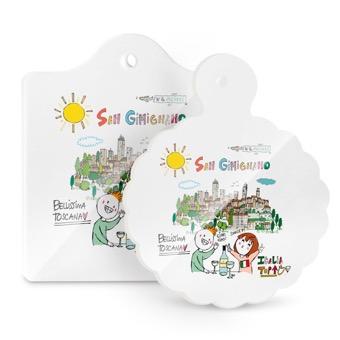 Tagliere - Sottopentola San Gimignano, bellissima la Toscana
