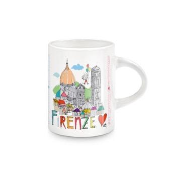 Tazzina Panorama Firenze