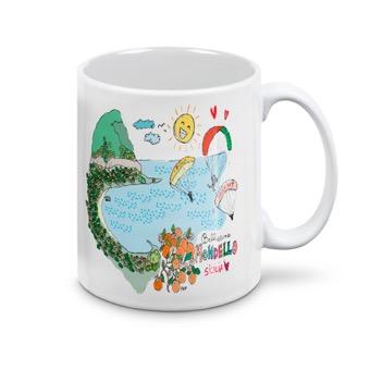 Tazza bellissima Mondello - Sicilia